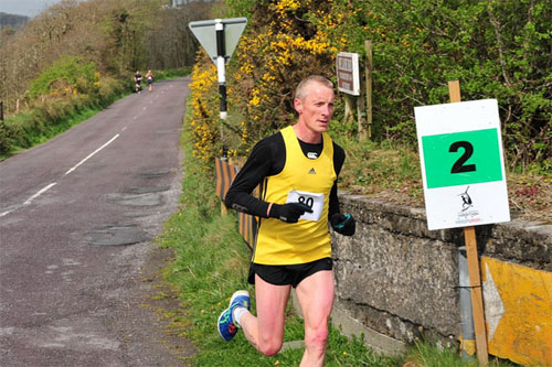 Don Keohane...2nd in the Clonakilty 10 mile. Pic: Kieran Minihane
