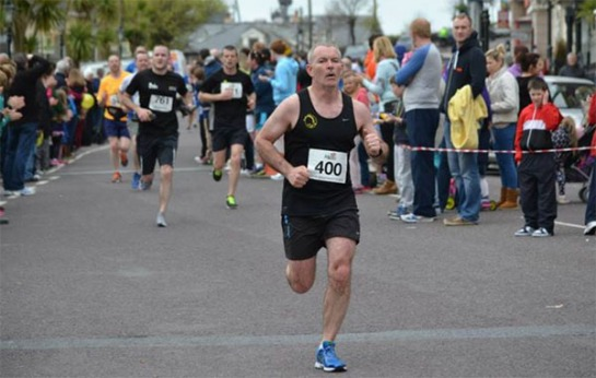 Finbarr Lehane finishing. Photo: Kieran Minihane