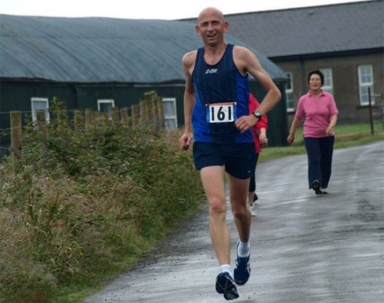 Kevin Sievewright...4th in Bere Island
