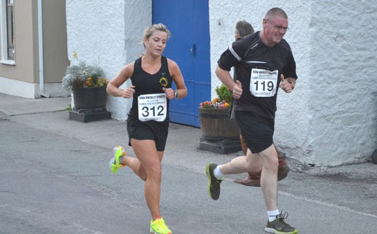 Linda Cussen...36:16...fastest time of the 4 races and 10th overall in the series