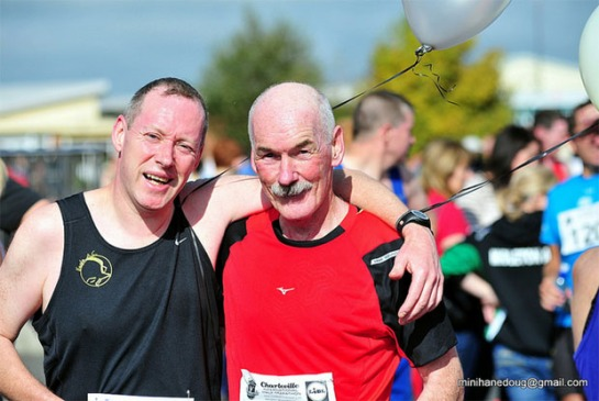 Ed Fitzgerald & Joe Murphy of Eagle AC...2:05 pacers