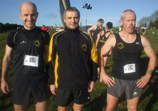 Ruairi O'Callaghan, Eddie Byrne & Charlie Byrd