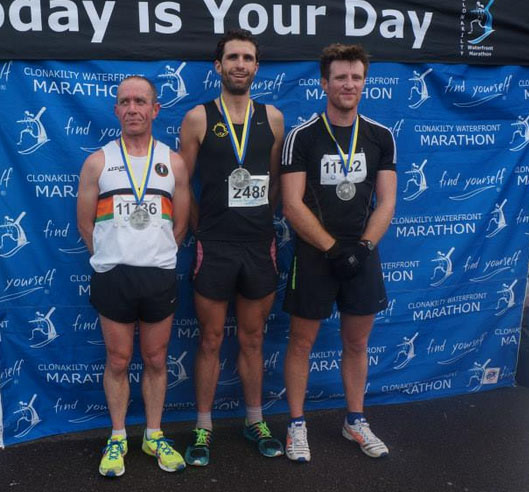 Killian O'Connor...winner of the 2014 Clonakilty 10k race