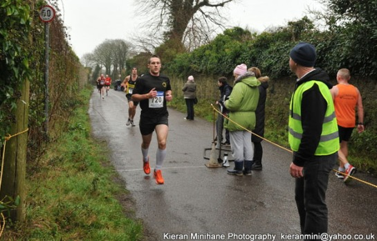 Jonathon Kenneally...first race in Eagle AC colours