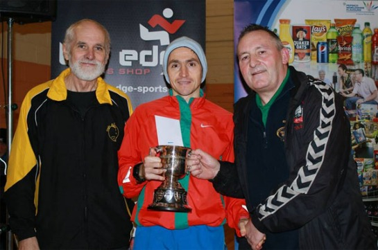 Alan O'Shea of Bantry AC...winner of the 2015 Carrigaline 5 mile road race