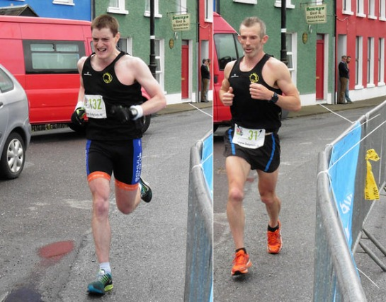 Damien Malone & Paul Connolly...1:31:08 and 1:35:02 respectively