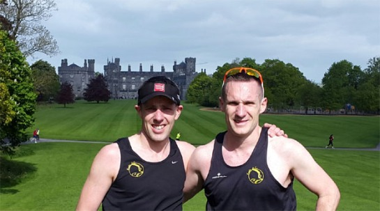 Damian & Jonathon Kenneally at the Kilkenny 5k parkrun