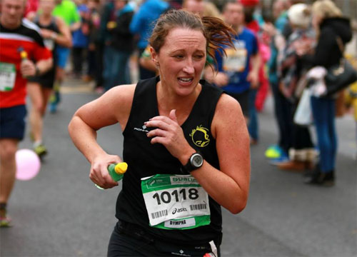 New marathon PB for Dympna Connolly