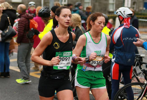Marathon debut for Tracy Cotter
